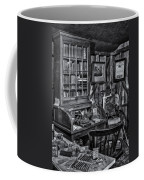 Old Fashioned Doctor's Office Bw Coffee Mug
