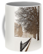 Old Fashioned Winter Coffee Mug