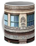 Old First National Bank - Building - Omaha Coffee Mug