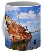 Old Fishing Ship Wreck Coffee Mug