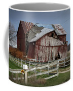Old Forlorn Decrepid Wooden Barn Coffee Mug