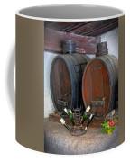 Old French Wine Casks Coffee Mug