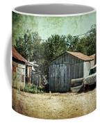 Old Garage And Car In Seligman Coffee Mug