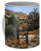 Old Gate At Oak Flats Coffee Mug