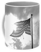 Old Glory Bw Coffee Mug