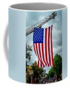 Old Glory Over Doylestown Coffee Mug