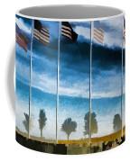 Old Glory-the American Flag Coffee Mug