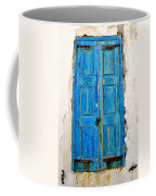 Old Greek Shutter Coffee Mug