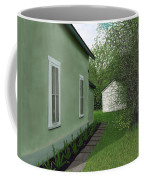 Old Green House Coffee Mug