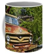 Old Green Truck Coffee Mug