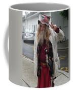 Old Hippie In Woodstock Ny  Coffee Mug