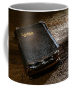 Old Holy Bible Coffee Mug by Olivier Le Queinec