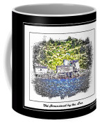 Old Homestead By The Sea Coffee Mug by Barbara Griffin