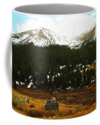 Old Homestead In The Colorado Mountains Coffee Mug