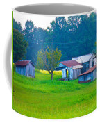 Old House And Harvest Time Coffee Mug