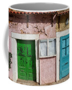 Old House Doors In Lisbon Coffee Mug