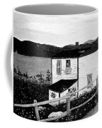 Old House In Black And White Coffee Mug