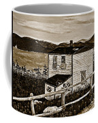 Old House In Sepia Coffee Mug