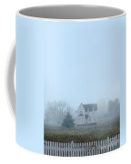 Old House In The Mist Coffee Mug