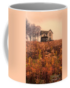 Old House In Weeds Coffee Mug