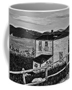 Old House - Memories - Shutters And Boards Coffee Mug