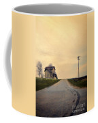 Old House On Country Road Coffee Mug