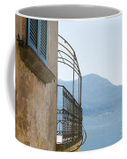 Old House With Lake View Coffee Mug