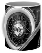 Old Jag In Black And White Coffee Mug
