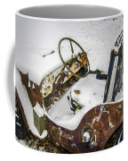 Old Jeep - New Snow Coffee Mug