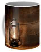 Old Kerosene Light Coffee Mug
