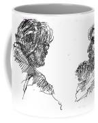 Old Ladies Talking Coffee Mug
