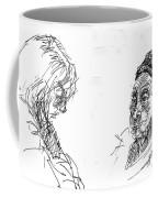 Old Lady With A Lady Coffee Mug