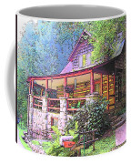 Old Log Cabin Home Coffee Mug