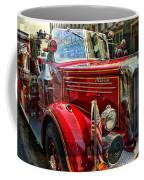 Old Mack Firetruck Coffee Mug