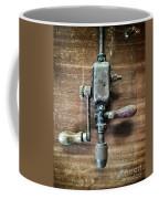 Old Manual Drill Coffee Mug