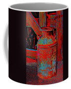 Old Milk Pail Pop Art Coffee Mug