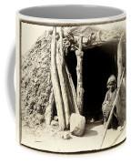 Old Navajo At His Hogan Coffee Mug