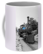 Old No. 7 Black White And Blue Coffee Mug