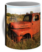 Old Orange Coffee Mug