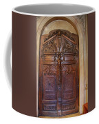 Old Ornamented Door Coffee Mug