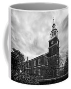 Old Otterbein Church In Black And White Coffee Mug