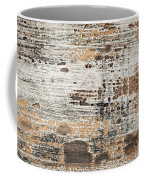 Old Painted Wood Abstract No.1 Coffee Mug by Elena Elisseeva