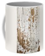 Old Painted Wood Abstract No.3 Coffee Mug