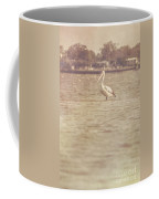 Old Pelican Photograph Coffee Mug