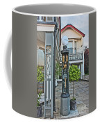 Old Petrol Pumps Stockbridge Coffee Mug