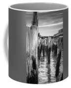 Old Pier In Provincetown Cape Cod Coffee Mug