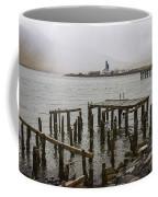 Old Pier In Siglufjordur Coffee Mug