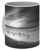 Old Piling Bw Coffee Mug