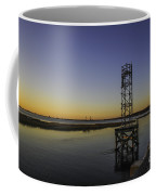 Old Pit Street Bridge To Ravenel Bridge Coffee Mug