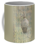 Old Pitcher Abstract Coffee Mug